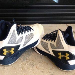 Under Armour Basketball Notre Dame Shoe